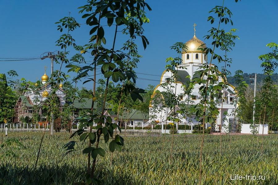 Так странно видеть православный храм среди тропиков