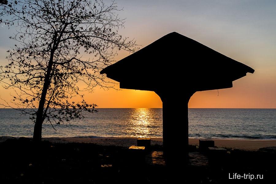 Закат в Тай Муанге