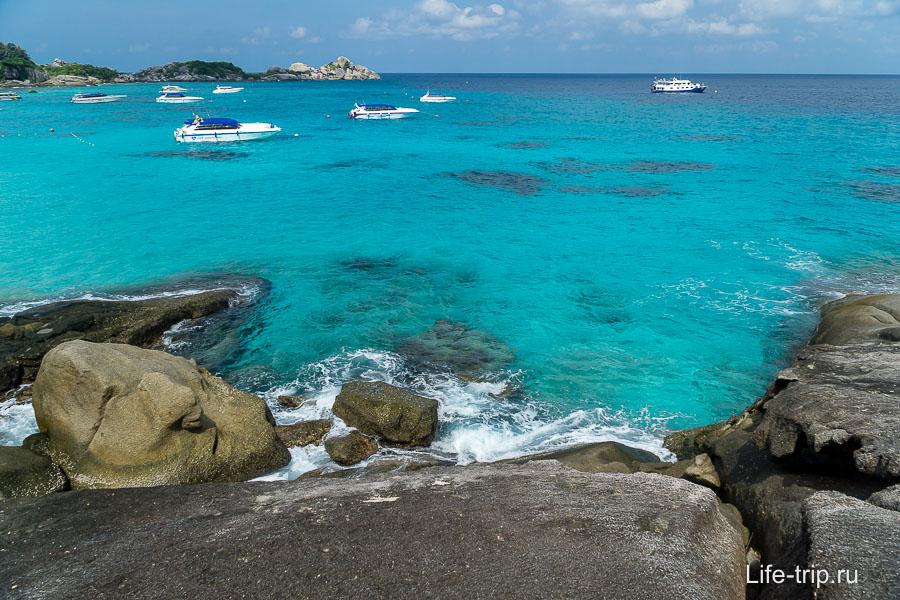Пейзаж на Симиланских островах закачаешься!