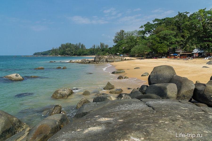 Один из замечательных пляжей в Као Лаке