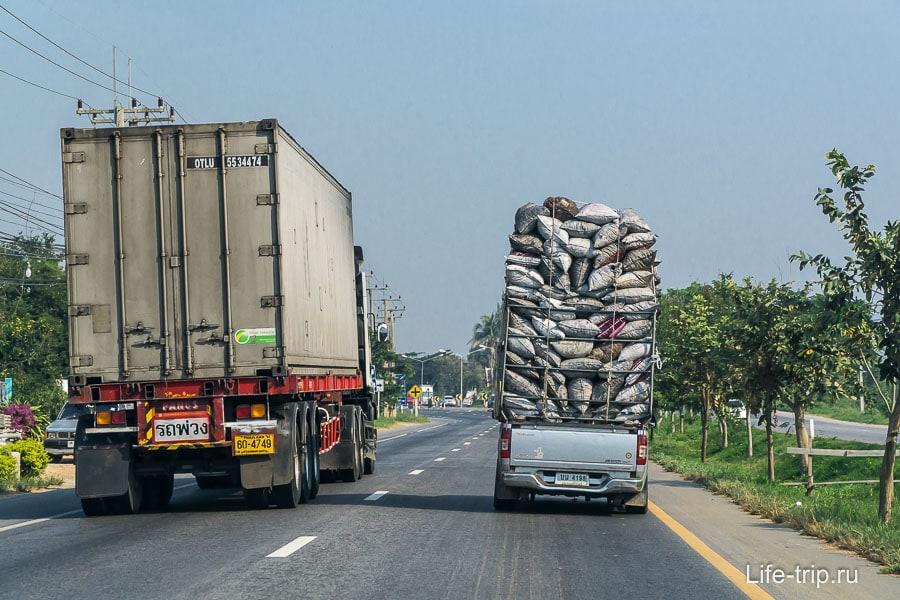 Зарисовки с тайских дорог