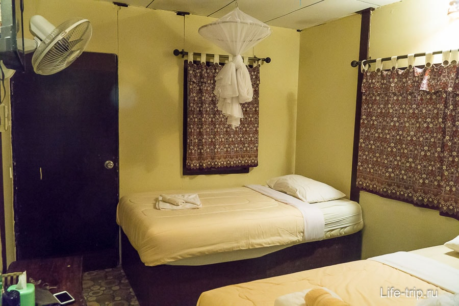Бунгало с двумя кроватями