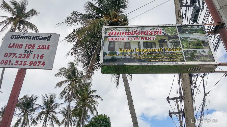 Аренда дома в Таиланде