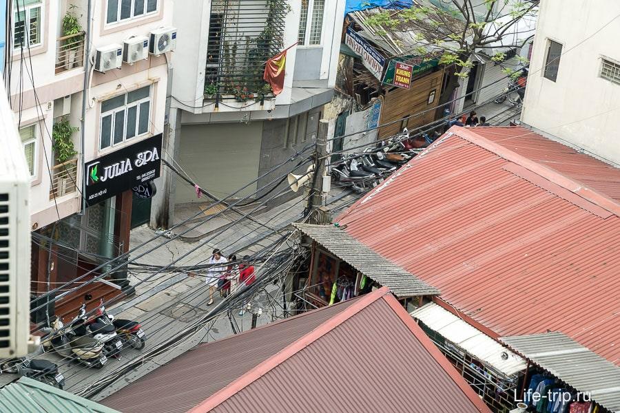 Виды из окна на Ханой
