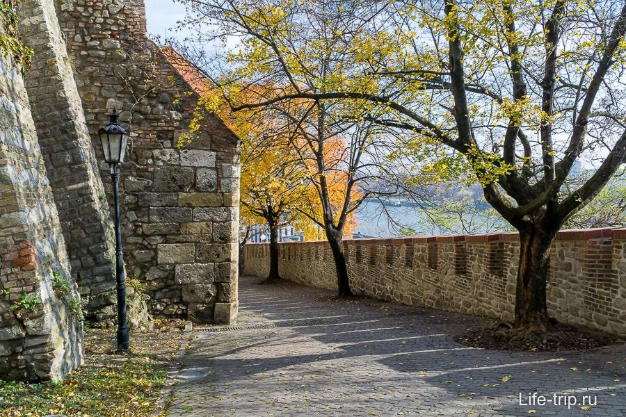 Осень - прекрасное время для посещения Братиславского града