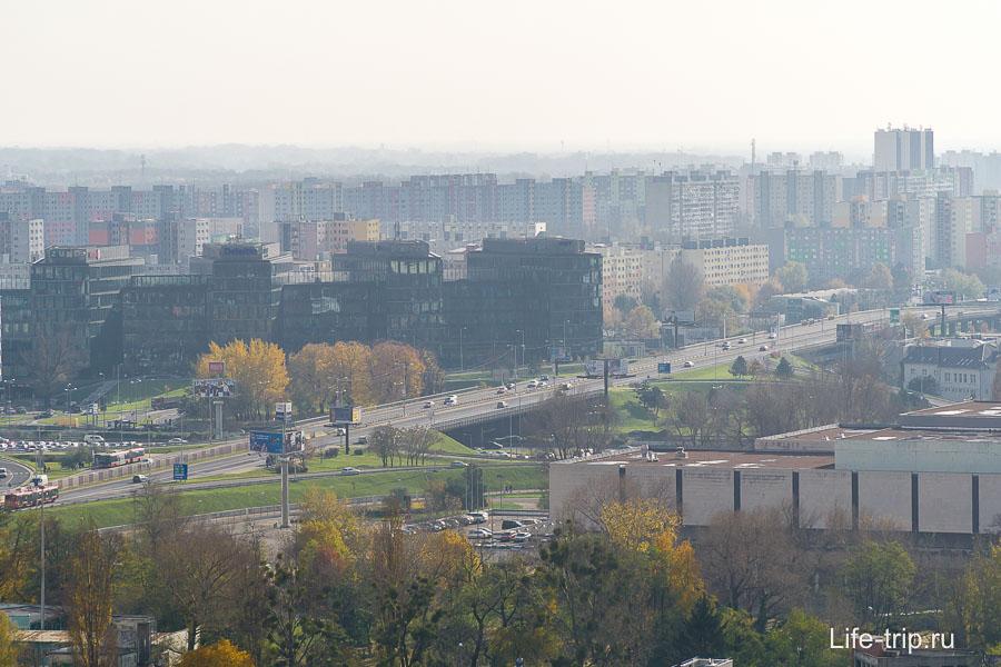 Спальные районы Братиславы