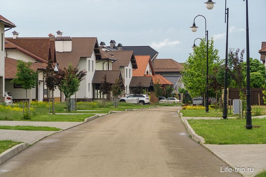 Коттеджи в Немецкой деревне