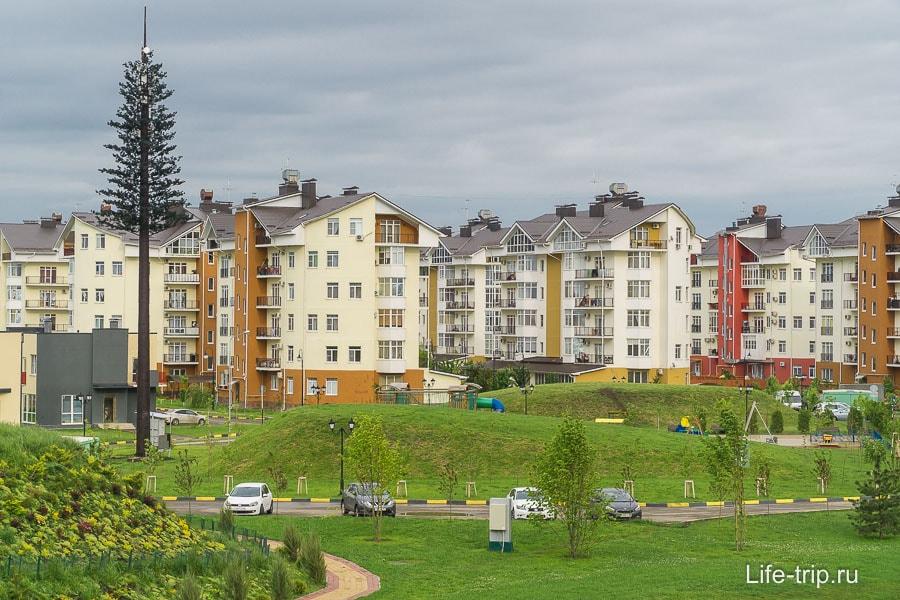 5-этажки в комплексе Европея