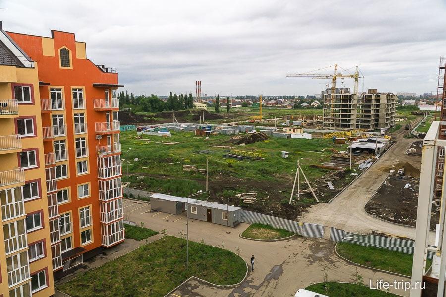 Стройка в Европа-Сити, тут будет школа