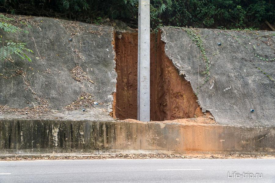 Теперь я знаю, что скрывает бетон на склонах