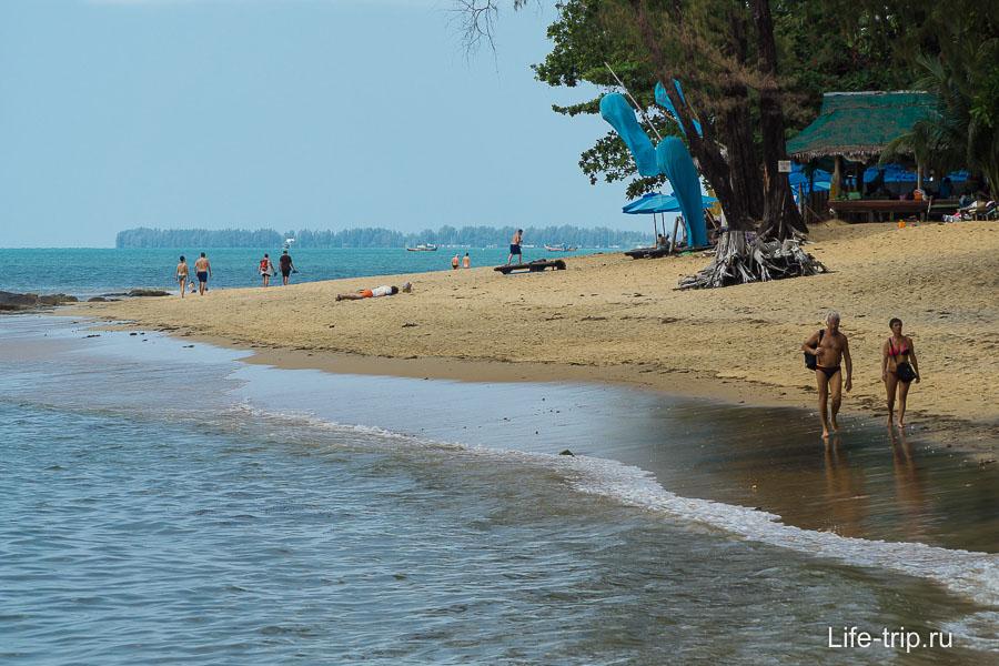 Мне очень понравились пляжи в Као Лак