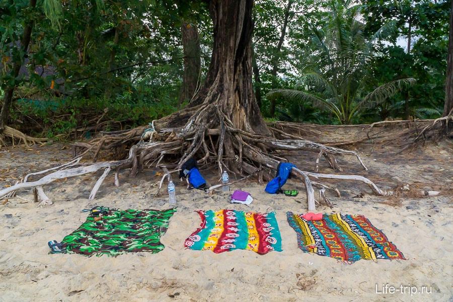 Просто пляж Нанг Тонг