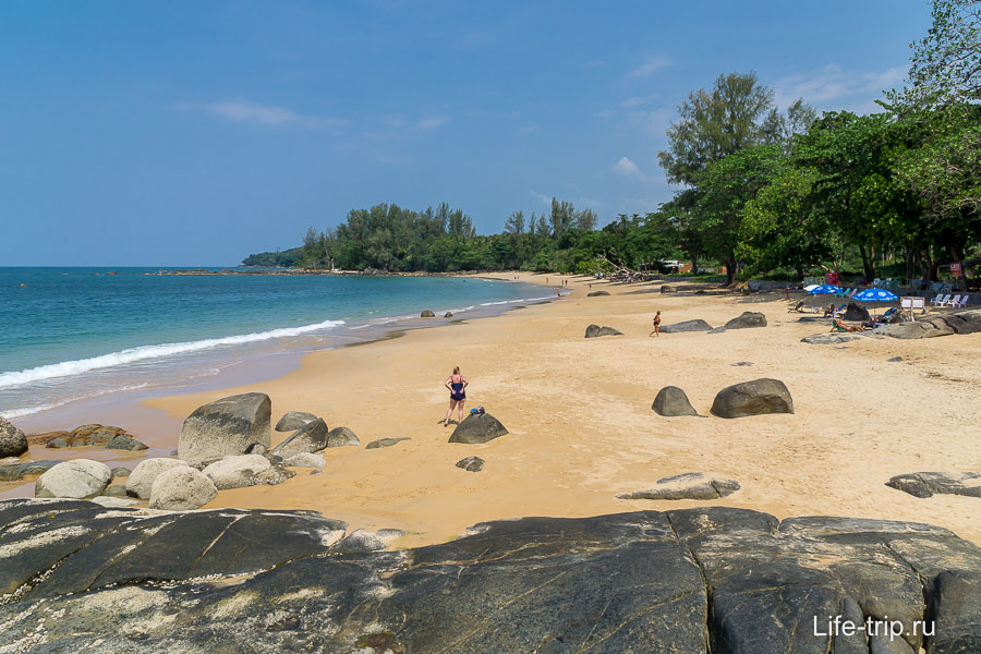 Пляжи в Као Лаке