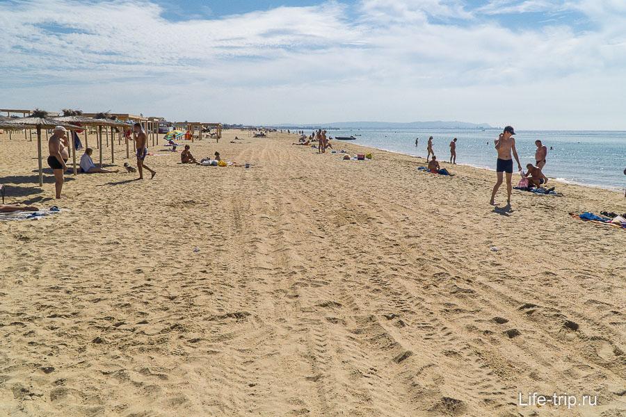 Пляж Пиратская Бухта в Витязево