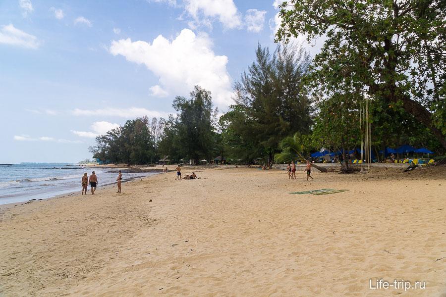 Пляж Нанг Тонг