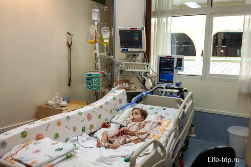 Реанимация в госпитале Samitivej Sukhumvit