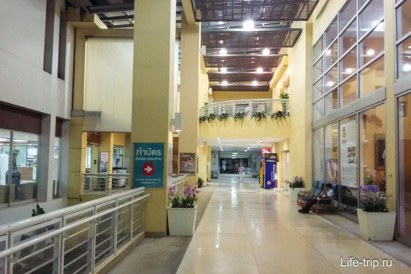 Несколько этажей, доступ, кроме стационара свободный с улицы