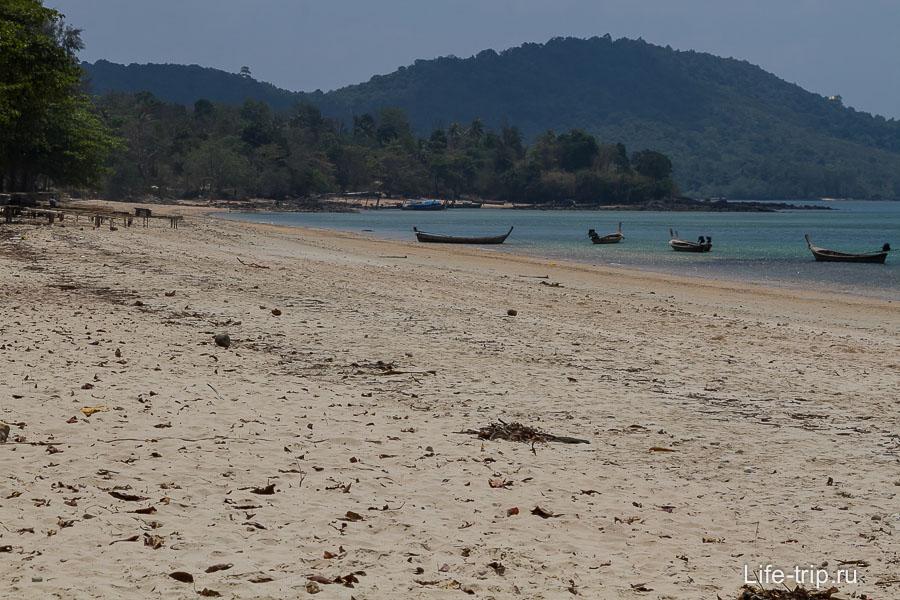 Пляж Клонг Муанг (Klong Muang) - тихий уголок для пенсионеров в Краби