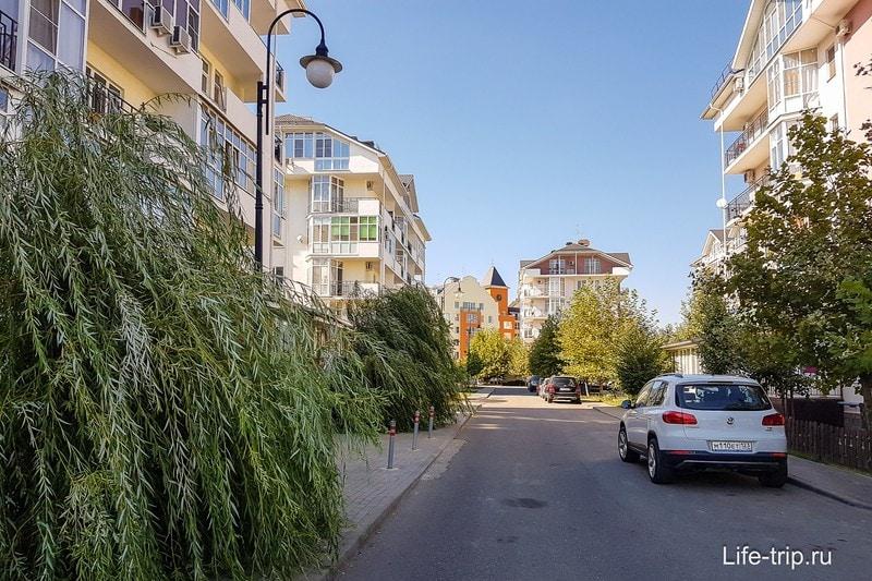 Перед отъездом погуляли по району Европея, куда бы я переехал жить