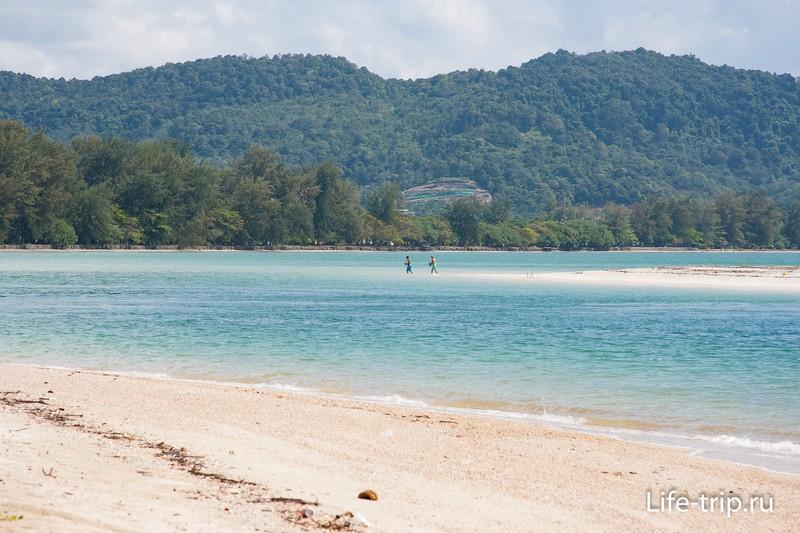 Пляж Пан (Pan Beach) в Краби - длинный и абсолютно дикий