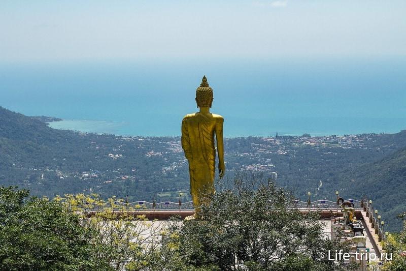 Пра Будда Теепангкорн в горах Ламаи