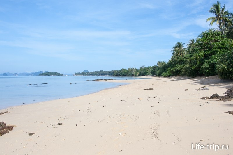 Пляж Ао Сиео, Краби