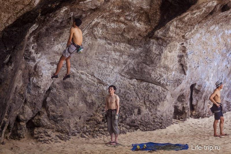 Скалолазание в Краби