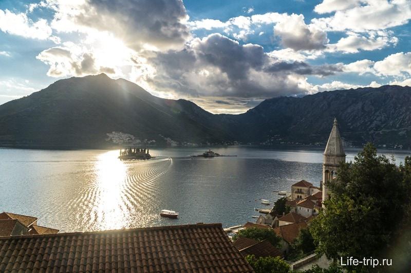 Боко-Которская бухта в Черногории