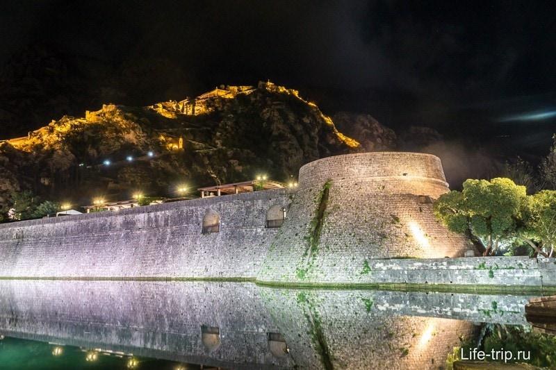 Крепостная стена в Которе