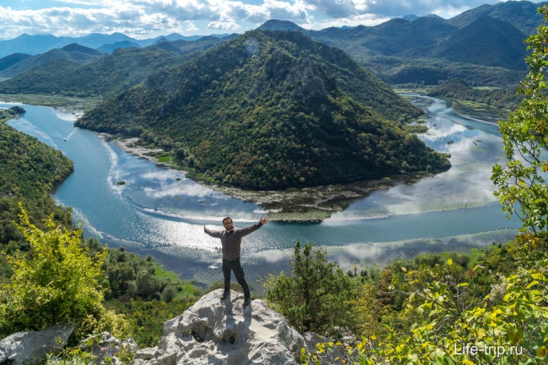 По пути к Скадарскому озеру
