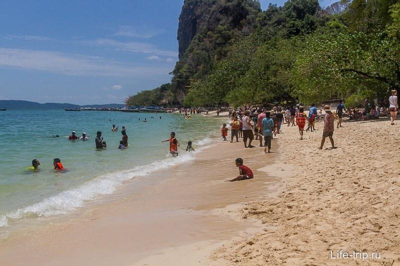 Пляж Пра Нанг, Райли
