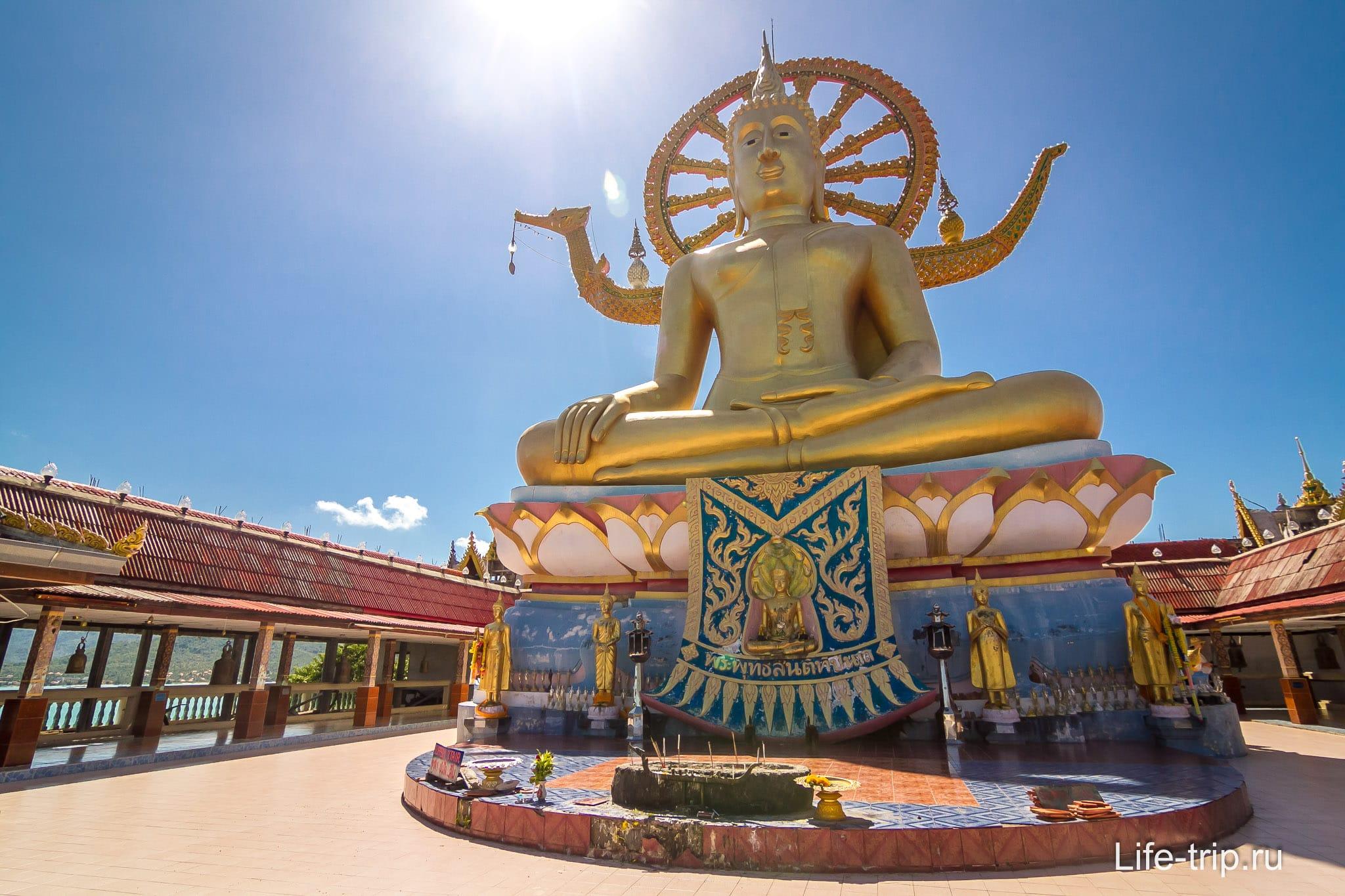 Статуя Будды - Big Buddha