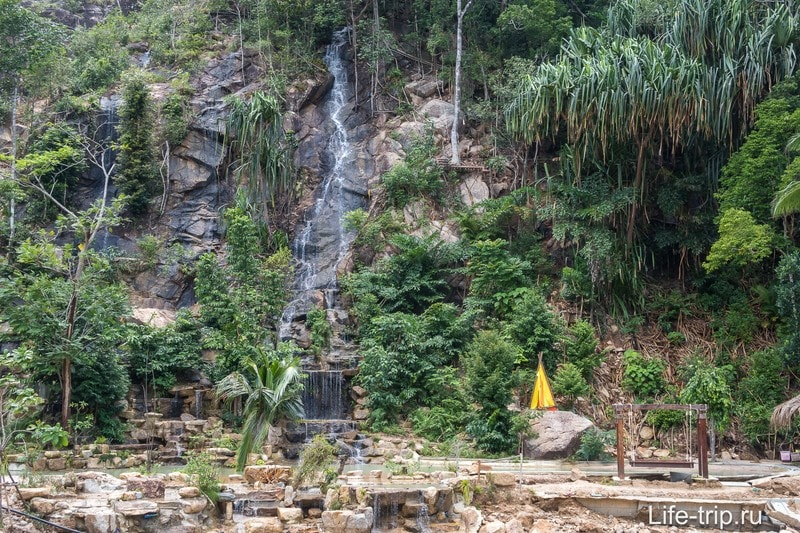 Водопад Ванг Сай на Пангане