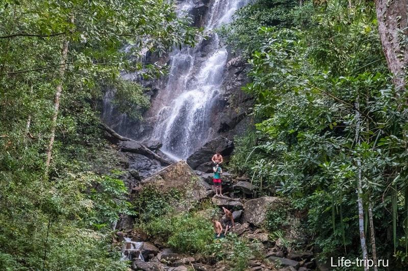 Водопад Пхэнг, Пангана