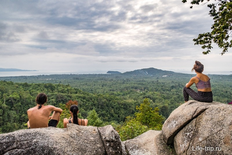 Смотровая площадка Дом Сила, Панган, Национальный парк Тан Садет