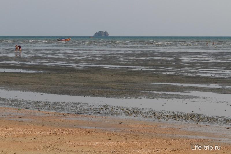 Приливы и отливы в Краби и Ао Нанге - таблица и как ей пользоваться