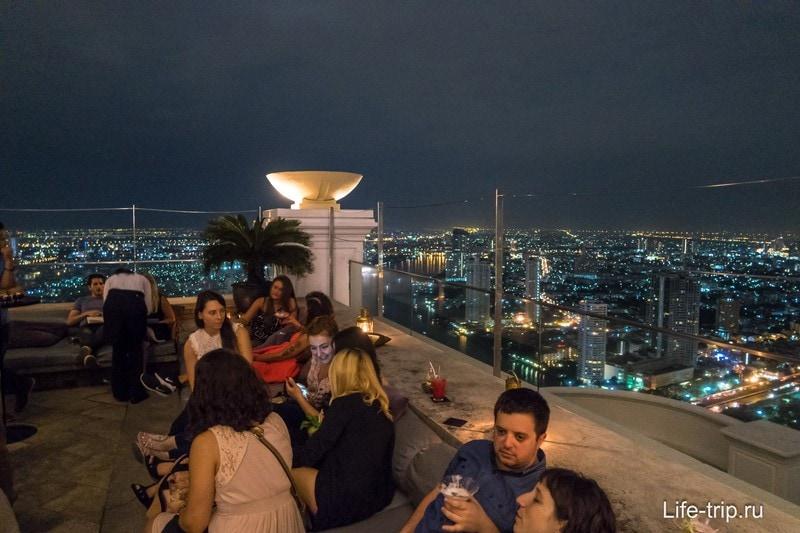Знаменитый отель Лебуа, где снимали фильм Мальчишник в Бангкоке - 63 этаж