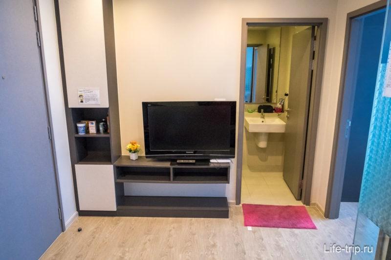 Лучшие апартаменты в Паттайе с бассейном на 32 этаже и видом на море - The Base
