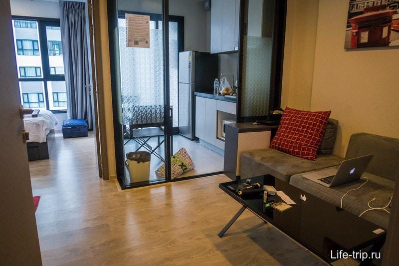 Квартира в Паттайе в центре города на 22-ом этаже