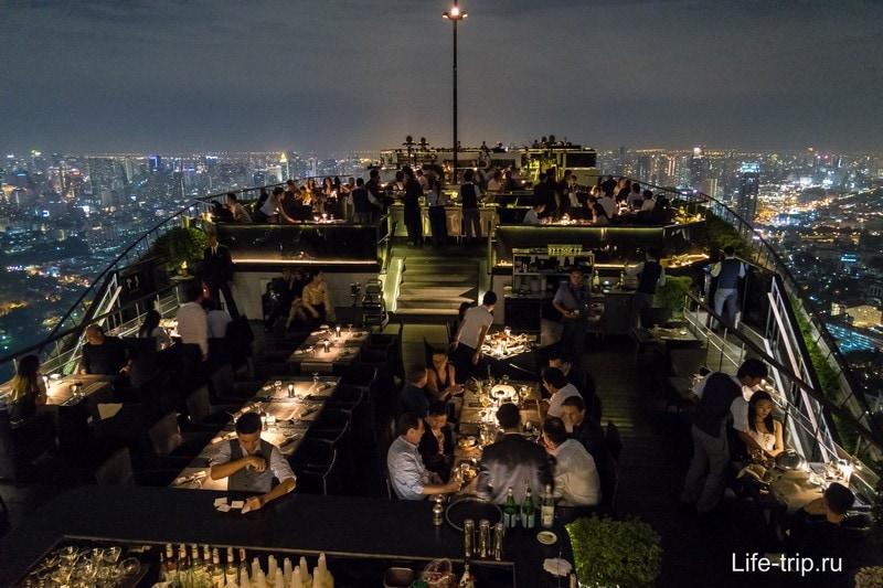 Ресторан на крыше, 61 этаж