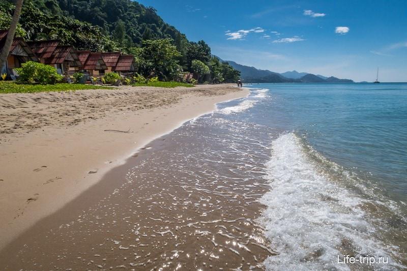 Пляж White Sanв Beach