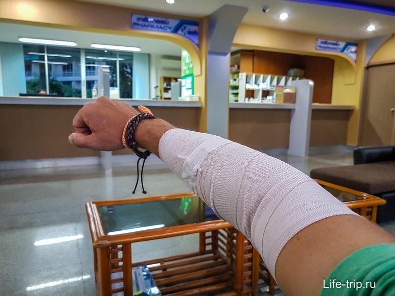 Свежий отзыв о работе страховки ERV в Таиланде на Самуи