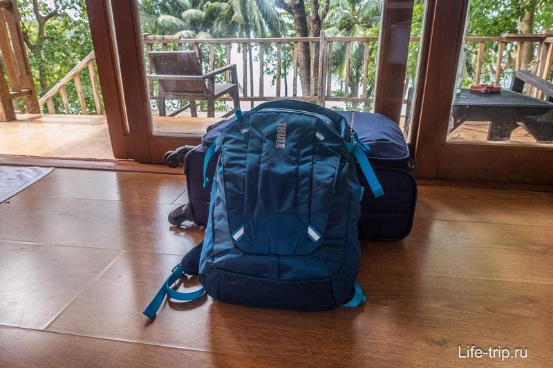 Мой набор в последнем путешествии по Таиланду