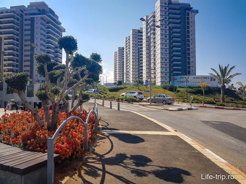 Район с хорошими домами и квартирами еще и хорошо выглядит