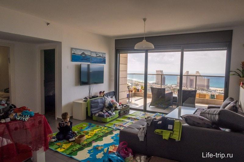 Отличная квартира в Хайфе за 150$