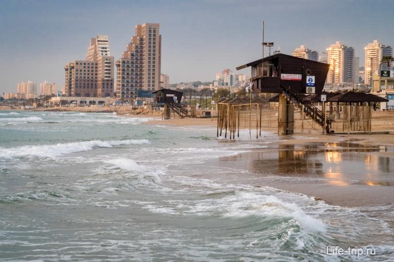 В Израиле есть море