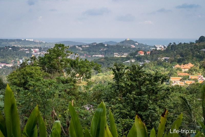 Бар, как смотровая площадка с видом на Банг Рак и Бо Пхут