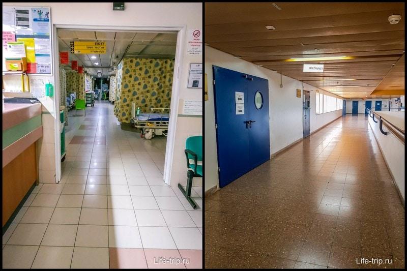 Госпитали выглядят по разному внутри