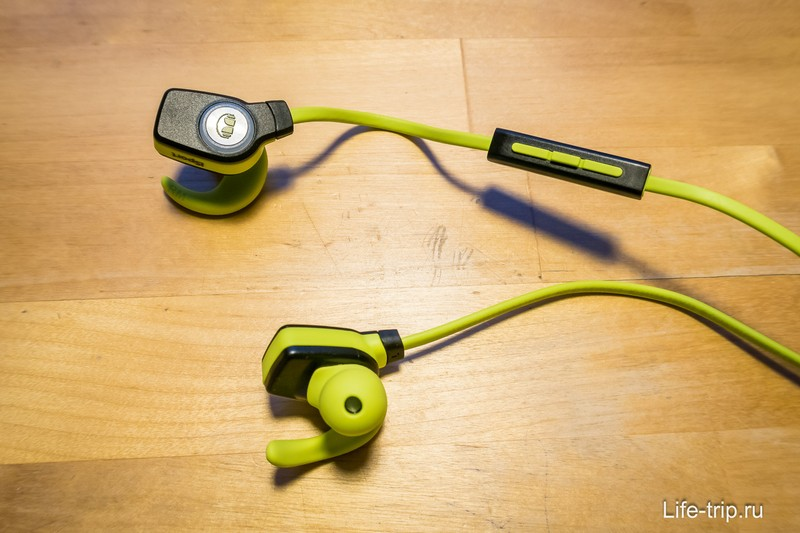 Сами наушники iSport SuperSlim