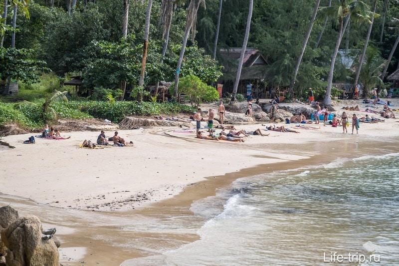 Пляж Хаад Сон (Haad Son) - уже не секретный пляж на Пангане